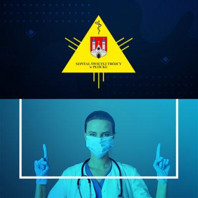 Informacja dla osób odwiedzających – wstrzymanie odwiedzin doodwołania wtrzech oddziałach Szpitala Świętej Trójcy - grafika wiadomości