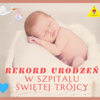 Rekord urodzeń od4 lat wnaszym Szpitalu!!! - grafika wiadomości